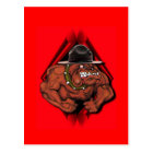 USMC Devil Dog Postcard