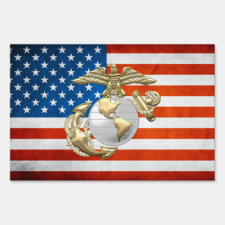 USMC Eagle, Globe & Anchor (EGA) [3D] Sign