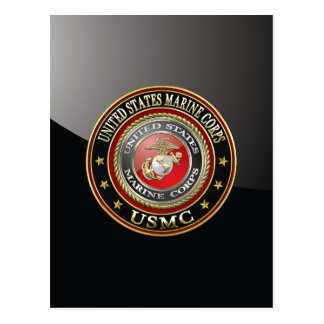 USMC Emblem [Special Edition] [3D] Postcard