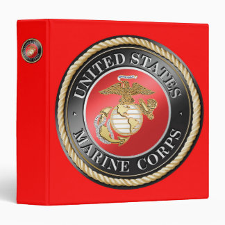 "USMC Every Signature 1.5"" Binder"