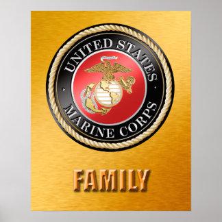 USMC Family Poster
