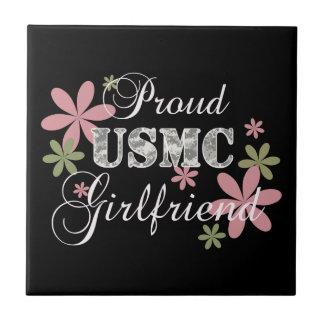 USMC Girlfriend [fl camo] Tile