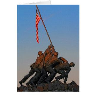 USMC Greeting Card