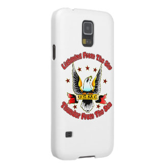 USMC Lightning From The Sky Thunder From The Sea Galaxy S5 Covers