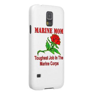 USMC Marine Mom Toughest Job In The Marine Corps Galaxy S5 Cover