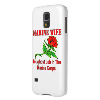 USMC Marine Wife Toughest Job In The Marine Corps Galaxy S5 Cover