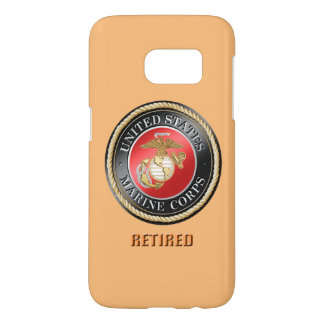 USMC Retired Barely There Samsung Galaxy S7 Case