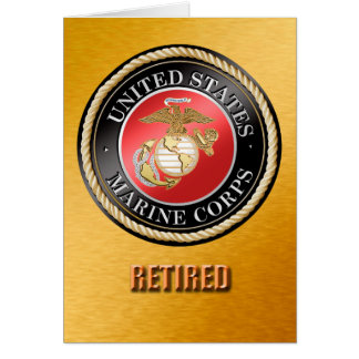 USMC Retired Card