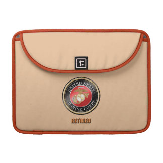 USMC Retired Electronics bag Sleeve For MacBooks