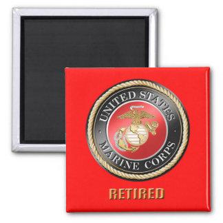 USMC Retired Magnet