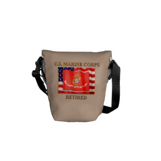 USMC Retired Rickshaw Mini Zero Messenger Bag