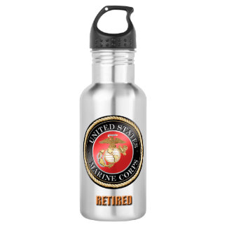 USMC Retired Water Bottle