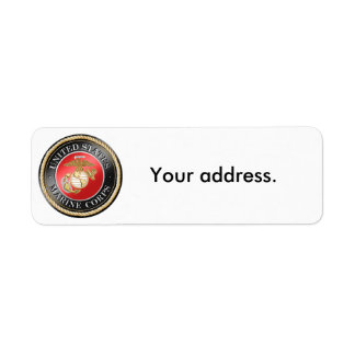 USMC Return Address Labels