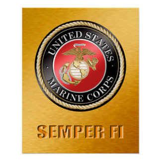 USMC Semper Fi Poster