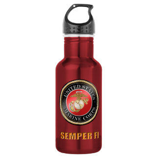 USMC Semper Fi Water Bottle