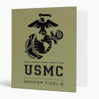USMC Semper Fidelis [Semper Fi] Binder