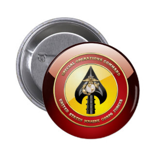 USMC Special Operations Command (MARSOC) [3D] 2 Inch Round Button