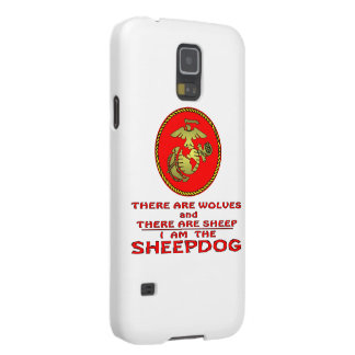 USMC There Are Wolves And There Are Sheep Case For Galaxy S5