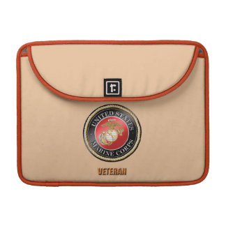 USMC Veteran Eletronics Bag Sleeve For MacBook Pro