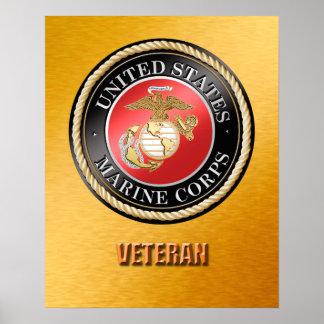 USMC Veteran Poster