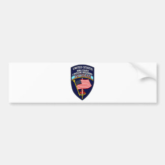 USMLM Insignia Bumper Sticker