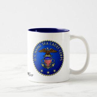 USNSCC Seal Two-Tone Coffee Mug