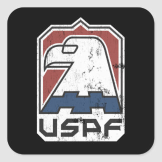 USPF US Police Force Square Sticker