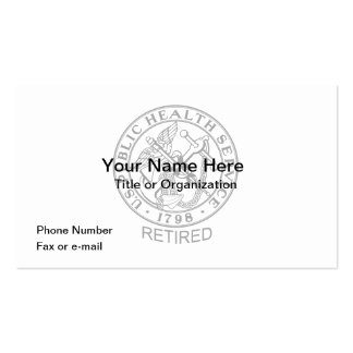 USPHS Retired Business Cards
