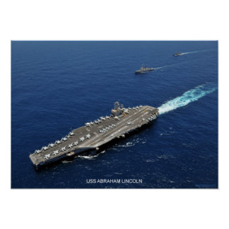USS Abraham Lincoln Poster