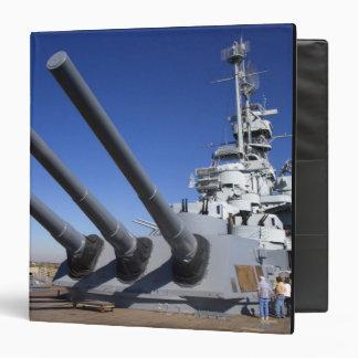 USS Alabama Battleship at Battleship Memorial 2 Binder