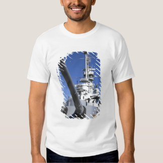 USS Alabama Battleship at Battleship Memorial T Shirts