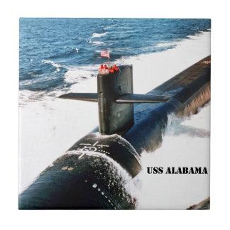 USS ALABAMA CERAMIC TILES