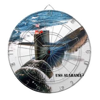 USS ALABAMA DARTBOARD
