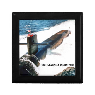 USS ALABAMA GIFT BOX