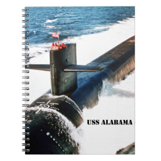 USS ALABAMA NOTEBOOKS