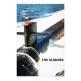 USS ALABAMA STATIONERY
