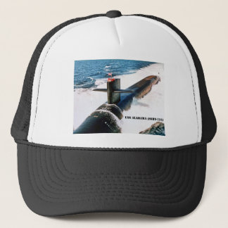 USS ALABAMA TRUCKER HAT