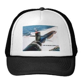 USS ALABAMA TRUCKER HAT