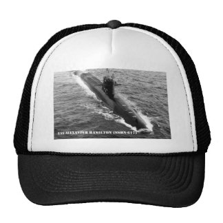 USS ALEXANDER HAMILTON TRUCKER HAT