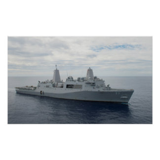 USS Anchorage (LPD 23) Poster