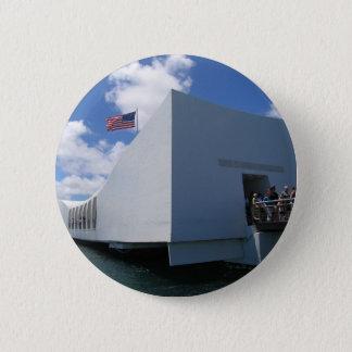 USS Arizona Memorial 2 Inch Round Button