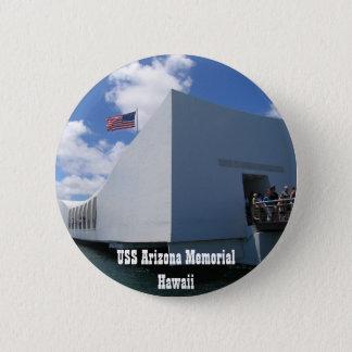 USS Arizona Memorial - Hawaii 2 Inch Round Button