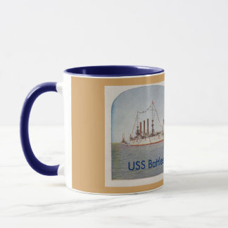 USS Battleship Ohio (BB12) Mug