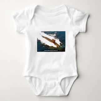 USS BENJAMIN FRANKLIN BABY BODYSUIT