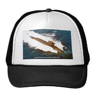 USS BENJAMIN FRANKLIN TRUCKER HAT