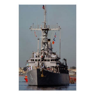 USS Chief (MCM 14) Poster