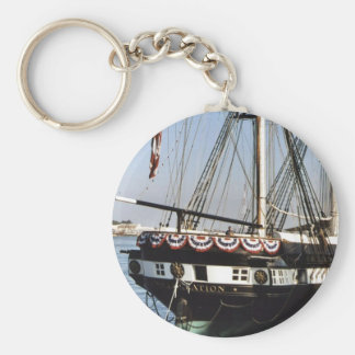USS Constellation Keychain