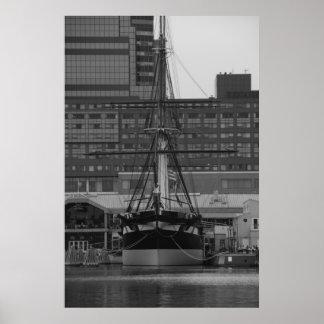 USS Constellation Print