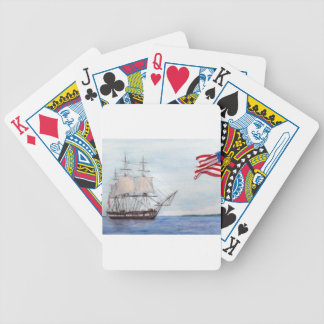 USS Constitution Bicycle Playing Cards