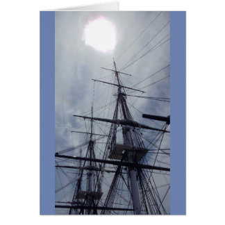 USS Constitution, Boston, MA Card